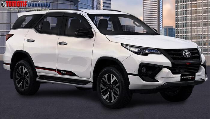 Spesifikasi & Harga Toyota Fortuner 2019