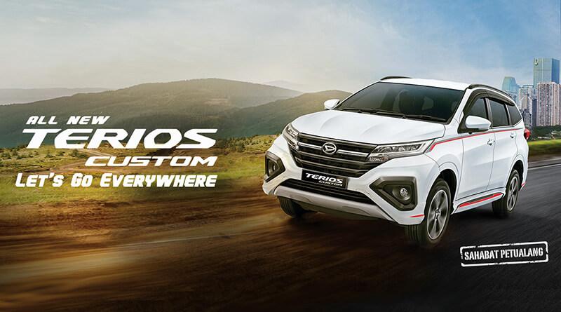 Spesifikasi & Harga Daihatsu Terios 2019 Bandung. Daihatsu Terios memiliki tampilan yang semakin gagah dan stylish. Info Sales | 0821 2772 5181