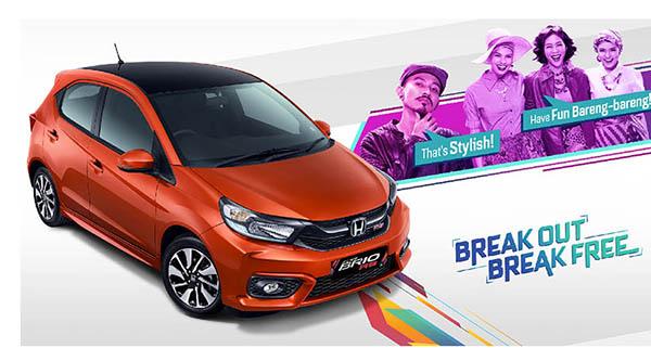 Spesifikasi & Harga Honda Brio 2019