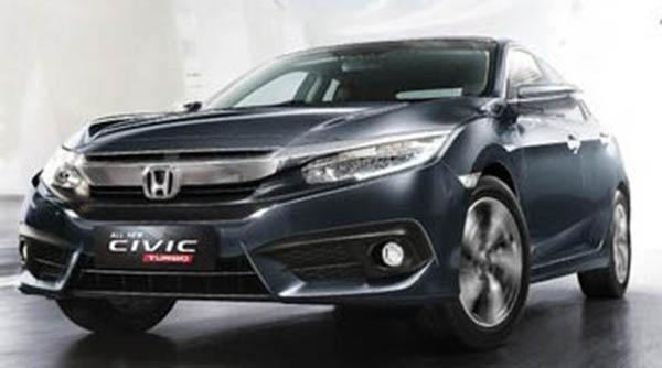Harga Honda Civic Turbo