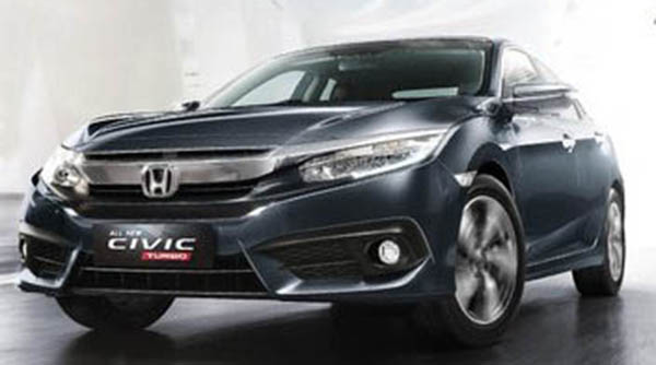 Spesifikasi & Harga Honda Civic 2019
