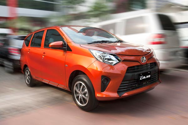 Spesifikasi & Harga Toyota Calya 2018