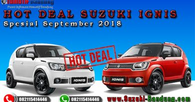 Hot Deal Suzuki Ignis Spesial September 2018