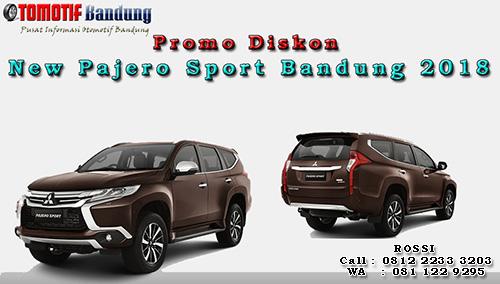 Promo Diskon New Pajero Sport Bandung 2018