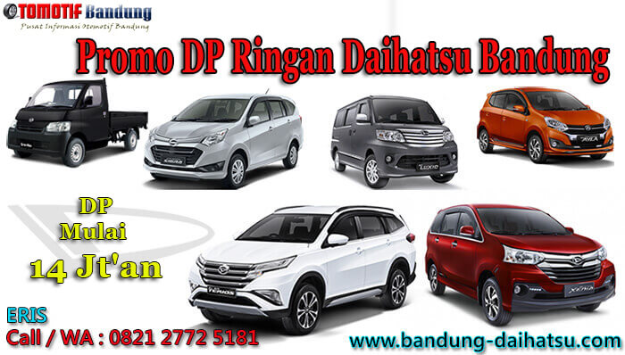 Promo DP Ringan Daihatsu Bandung