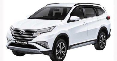 Spesifikasi All New Daihatsu Terios 2019