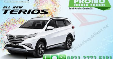 Promo Akhir Tahun All New Terios Bandung