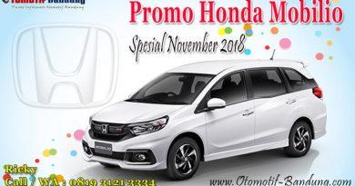 Promo Honda Mobilio Spesial November 2018
