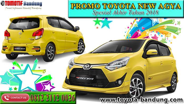 Promo Toyota Agya Spesial Akhir Tahun 2018