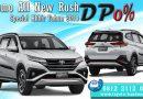 Promo Toyota Rush Akhir Tahun 2018