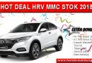 HOT DEAL HRV MMC STOK 2018