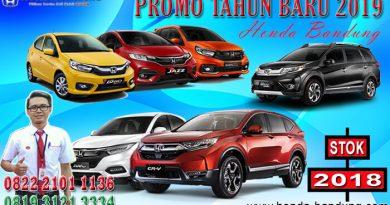 Promo Tahun Baru 2019 Honda Bandung