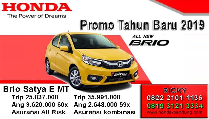 Promo Tahun Baru 2019 Honda Brio