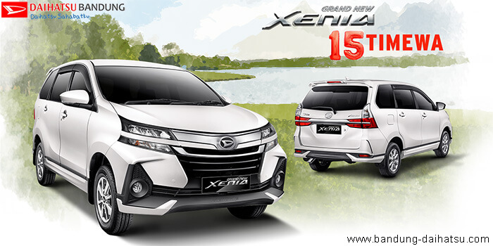 Spesifikasi & Harga Daihatsu Grand New Xenia 2019