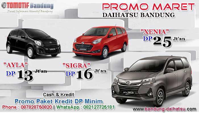 Promo Maret Daihatsu Bandung