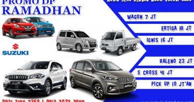Promo DP Ramadhan Suzuki Bandung