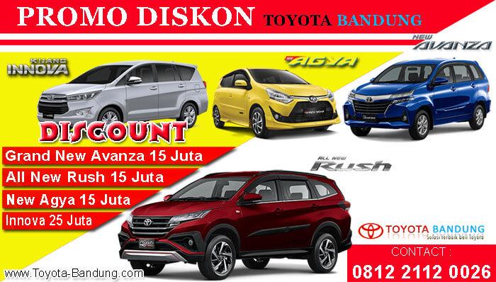 Promo Diskon Toyota Bandung 2019