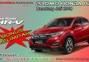 Promo Honda HRV Bandung Juli 2019