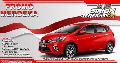 Promo Merdeka Daihatsu Sirion Bandung 2019