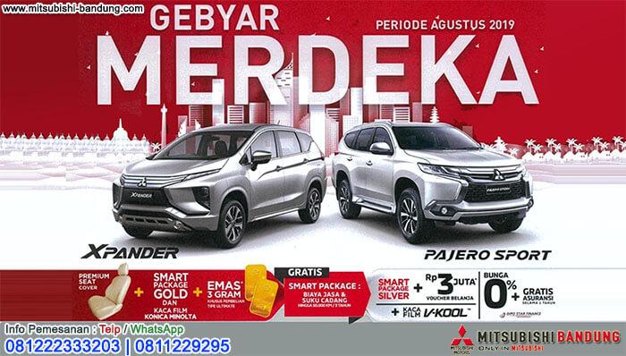 Promo Merdeka Mitsubishi Bandung 2019
