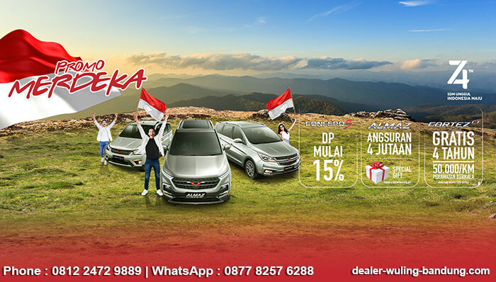 Promo Merdeka Wuling Bandung 2019