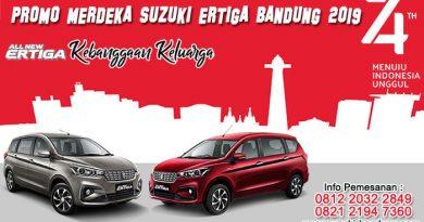 Promo Merdeka Suzuki Ertiga Bandung 2019