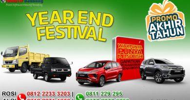 Gebyar Akhir Tahun Mitsubishi Bandung 2019