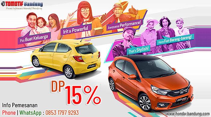 Promo Kredit DP 15% Honda Brio Bandung