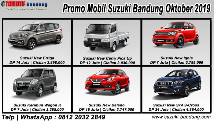 Promo Mobil Suzuki Bandung Oktober 2019