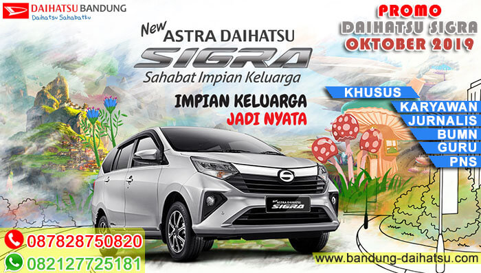 Promo Akhir Tahun Daihatsu Sigra Bandung