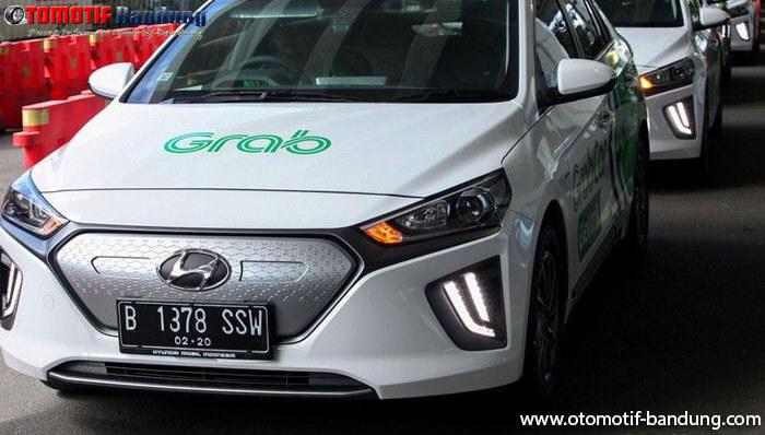 Hyundai Ioniq, Mobil Listrik Grab Bakal Diproduksi di Indonesia?