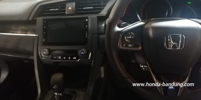 interior new honda civic RS
