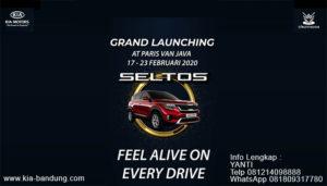 Grand Launching KIA Seltos di Bandung