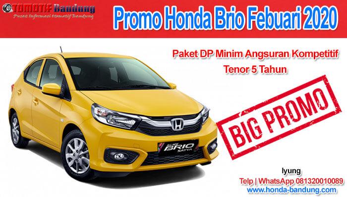 Promo All New Brio Bandung Febuari 2020