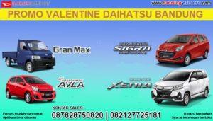 promo valentine daihatsu bandung