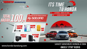 Custumer Gathering Honda Bandung Maret 2020
