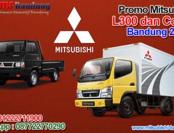 Promo Mitsubishi L300 dan Colt Diesel Bandung 2020