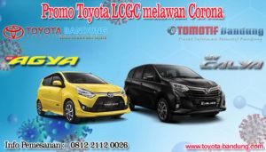 Promo Toyota LCGC Melawan Corona