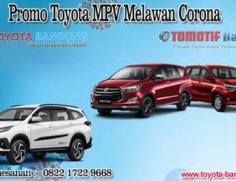 Promo Toyota MPV Melawan Corona