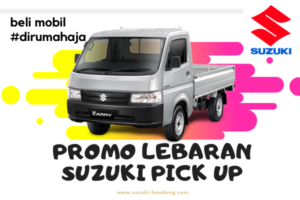 promo lebaran suzuki pick up