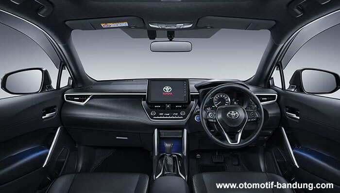 Interior Toyota All New Corolla Cross