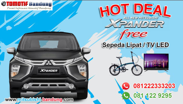 Promo Xpander Free Sepeda Lipat