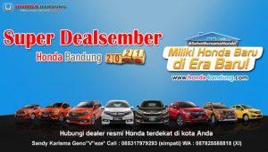 Honda Bandung Super Dealsember