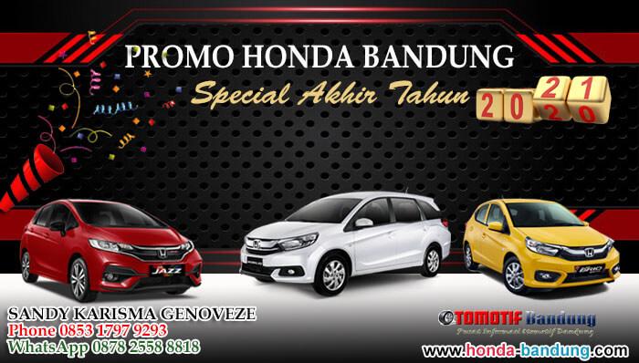 Promo Honda Bandung Special Akhir Tahun 2020