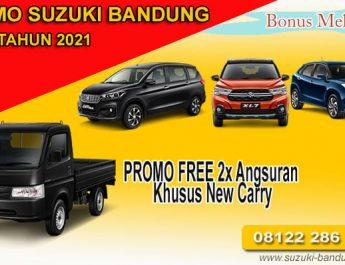 Promo Suzuki Bandung Awal Tahun 2021