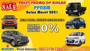 Paket Promo DP Ringan PPNBM Bulan Maret 2021